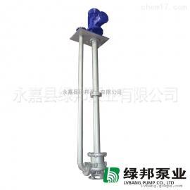 YWP不锈钢316液下单管双管水槽处理排污加长轴污水泵