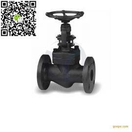 锻钢法兰截止阀 J41H-150Lb 材质可供 A105 F304