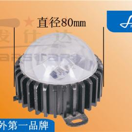 led12珠5050贴片铝底外控100mm点光源