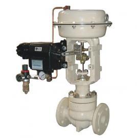 生产厂家出售ZHJP-64C DN125型低温气动薄膜单座调节阀