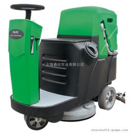 爱姆乐小型驾驶式洗地机740MINI工厂车间保洁用洗地机