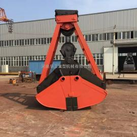 大量供应亚重超重型U101 四绳抓斗 材质Q235普板 长垣生产商