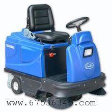 高华牌驾驶式电瓶扫地机出口品质