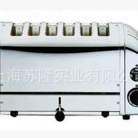 英国得力4SLICE 6SLICE商用多士炉全自动烤面包机