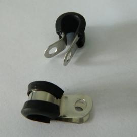 福莱通包塑金属软管管夹 电缆卡子 电缆线固定夹制造