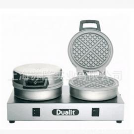 得力 DUALIT DWIMC GB双头华夫炉 进口松饼机