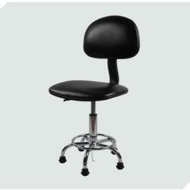 加高防静电工作椅 pu皮革防静电椅 防静电椅配件