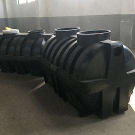 阜新小区环保化粪池1.5吨三格化粪池耐用PE化粪池