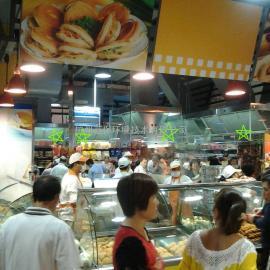 美食城、超市明�n�^不�P�玻璃排��罩