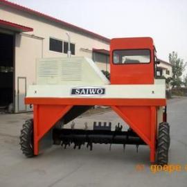 济南SFA-25翻堆机,济南有机肥翻堆机价格