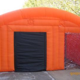塑料篷布帐篷张家直销/消防逃生帐篷/烟雾逃生帐篷