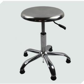 钢镀铬五星脚防静电椅 不锈钢防静电椅 轻巧、耐用防静电椅