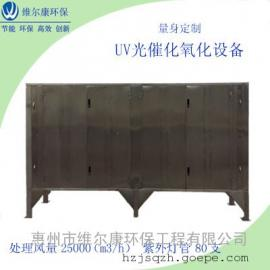 2.5万风量UV光催化氧化设备有机废气处理设备不锈钢