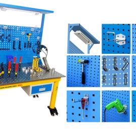 培训使用焊接平台,实验室使用柔性工装夹具,好焊台