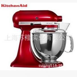 美国kitchenaid 5KSM150PS厨宝和面机5QT厨师机打奶油揉面搅拌机