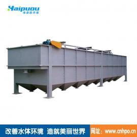 专业生产山东镀锌污水处理设备溶气气浮机 投资省占地小