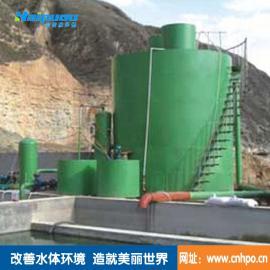 供应海普欧化工污水处理设备竖流溶气气浮机污水处理设备
