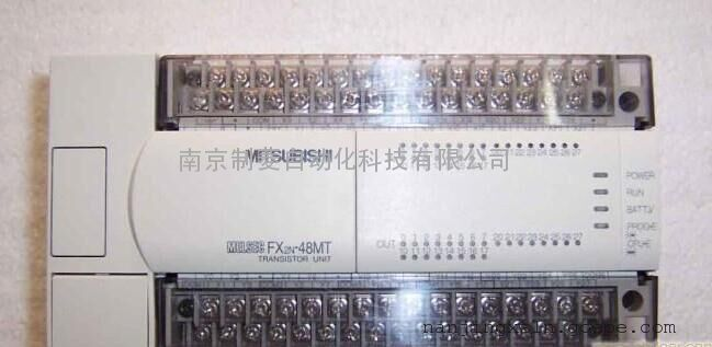 三菱fx3u-48mt/es-a晶体管漏型 南京制菱
