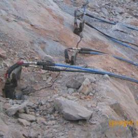 专业拆除边坡岩石新机械代替爆破无声不震动设备