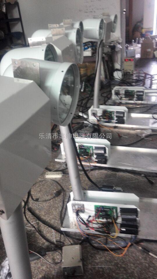 JY-QBD-300【车载曲臂灯】_升降旋转云台
