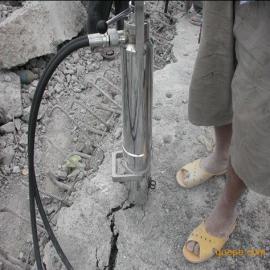 砼路面无声替代破碎锤先进高效无震动拆除钢筋混凝土机械