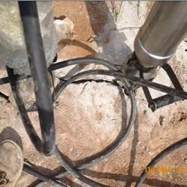 公路边坡岩石取代炸药快速无声拆除设备代替破碎锤