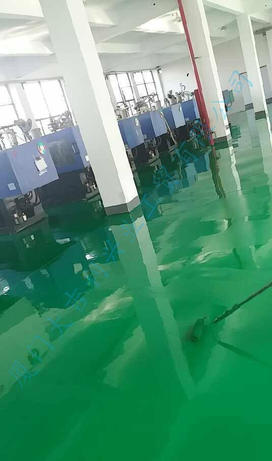超荷载环氧砂浆地坪涂装系统