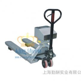 亚津防爆不锈钢搬运秤 高精度本安型防爆叉车秤