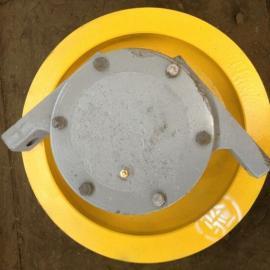 大量供应φ400*120亚重单边被动车 优质铸钢轮车轮组7520轴承