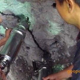 洞采不需爆破安全高效开采新机械液压膨胀机