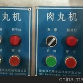 双速双电机肉丸机 蔬菜丸子流水线 猪肉粉条丸子机