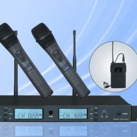 供应TM-3009一拖二无线话筒