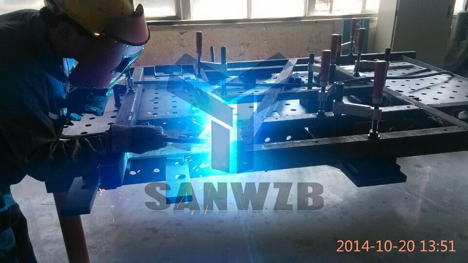 柔性工装夹具,焊接工装夹具,东莞三威,三维柔性组合焊接工装夹具,