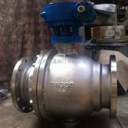 DN300不锈钢固定球阀Q347F