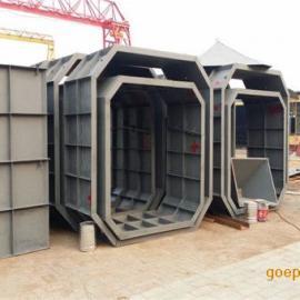 预制化粪池模具,八角形化粪池钢模具价格