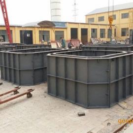 化粪池钢模具,高韧性预制化粪池模具