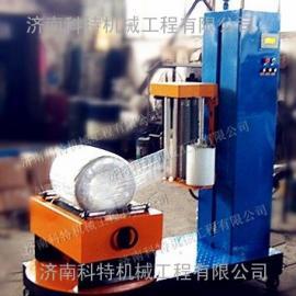 滴灌带包装机,圆筒式缠绕膜裹包机