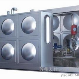 昆山 常熟箱泵一体化给水设备 消防箱式泵站 定制