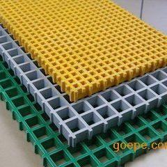 污水处理专用格栅板,玻璃钢格栅走道,排水沟盖板