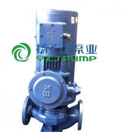 管道泵:ISG型防爆立式管道泵立式单级离心泵