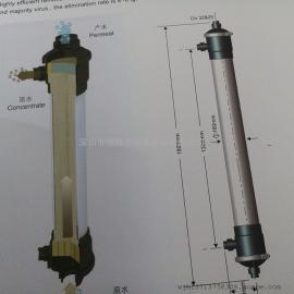 代理膜天超滤膜UOF40m2膜面积PVDF柱式超滤膜组件