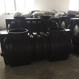 成都2吨一体化塑料化粪池1.5吨三格污水处理化粪池成品化粪池