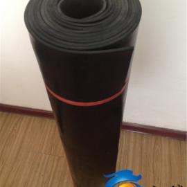 电厂专用绝缘胶板 黑色橡胶板 高压绝缘胶板