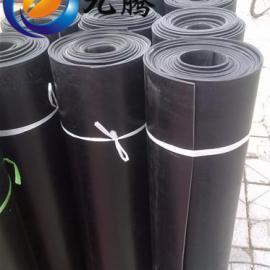 厂家直销 6mm黑色绝缘胶垫 光面绝缘胶垫