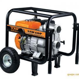 便携式4寸汽油水泵