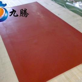 10KV红色绝缘胶板 绝缘胶板 配电间绝缘板
