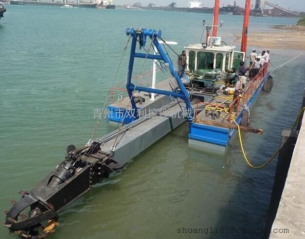 绞吸式抽沙设备河南山西抽沙船