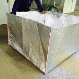 厂家直销单层双层气泡镀铝EPE隔热罩托盘罩卡板罩子