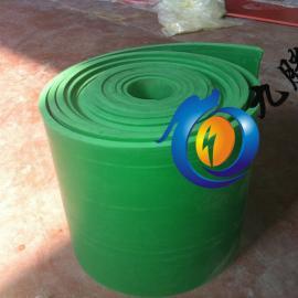 绿色绝缘垫 10mm绝缘胶垫价格 绝缘胶垫厂家
