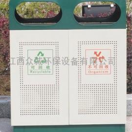供应众城冲孔垃圾桶ck005